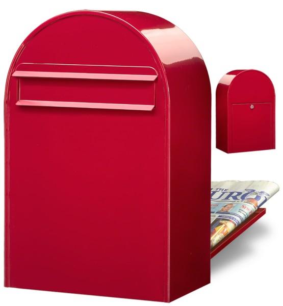 Bobi Classic B Briefkasten in Rot
