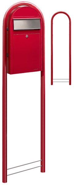 Briefkasten Bobi Grande S Rot