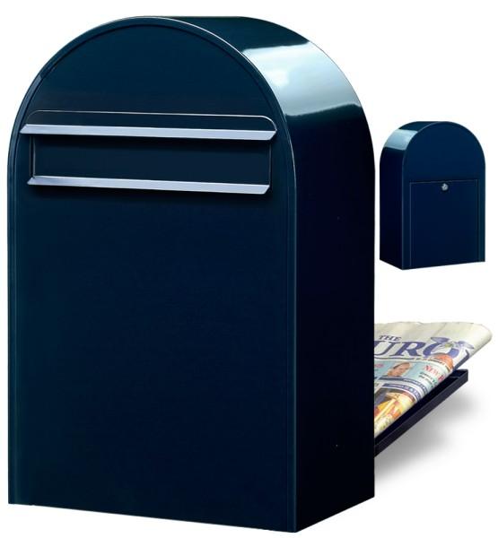 Bobi Classic B Briefkasten Farbe Schwarzblau