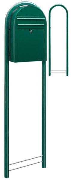 Briefkasten mit Ständer Bobi Classic Grün