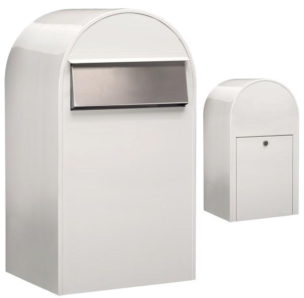 Bobi Grande B Weiss Briefkasten