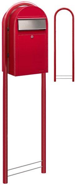 Briefkasten Bobi Grande Rot Standbriefkasten
