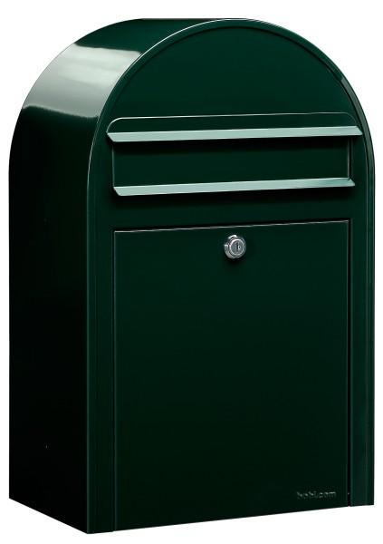 Briefkasten Bobi Classic Schwarzgrün