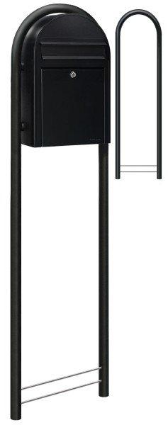 Standbriefkasten Bobi Classic Strukturschwarz