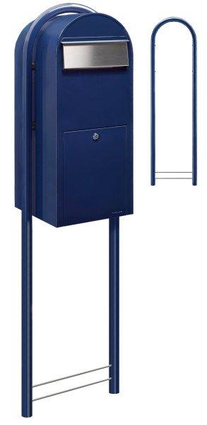 Briefkasten Bobi Jumbo Blau
