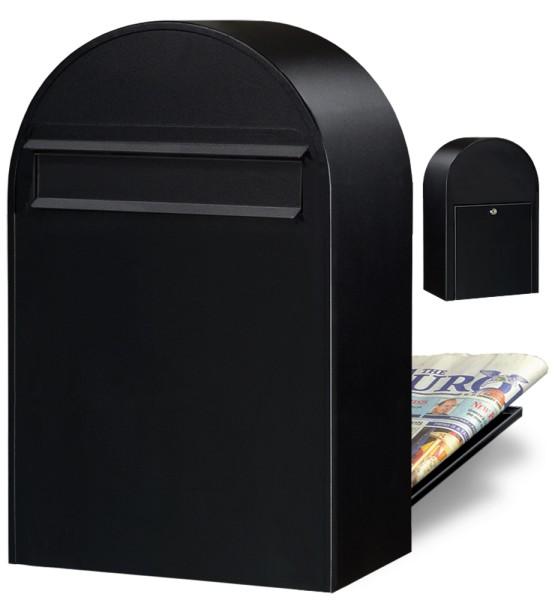 Briefkasten Bobi Classic B Strukturschwarz