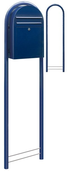 Bobi Classic Blau Standbriefkasten