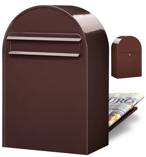 Bobi Classic B Braun Briefkasten