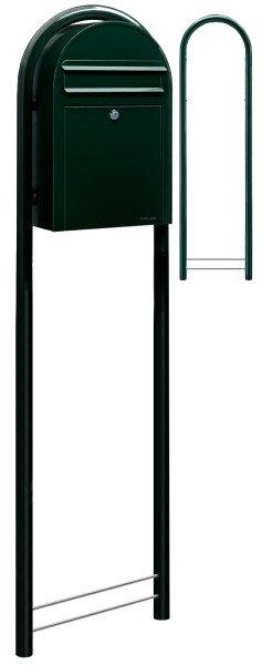 Schwarzgrün Bobi Classic Standbriefkasten