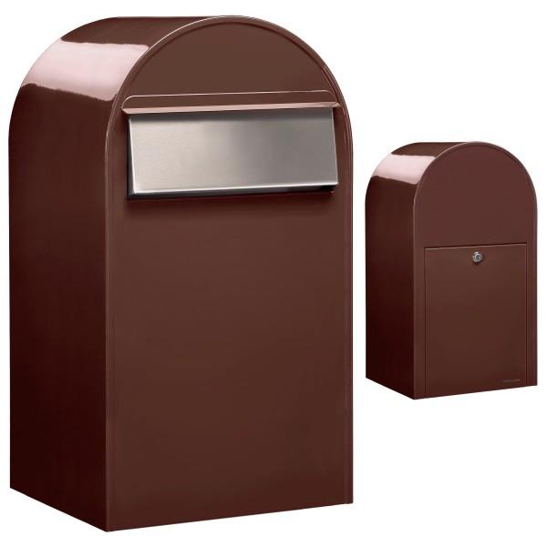 Briefkasten Bobi Grande B in Braun