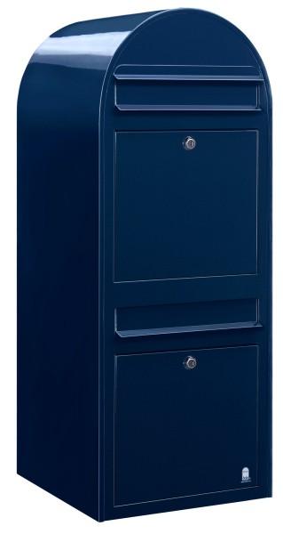 Briefkasten Bobi Duo Blau
